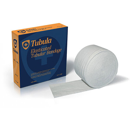 Click Medical Blue Dot 10m Tubular Bandage Size B White Ref CM0588