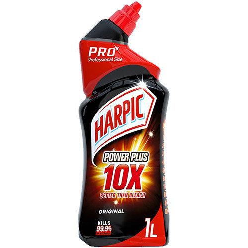 Harpic Power Plus 10X Toilet Cleaner 1 Litre Ref RB501066