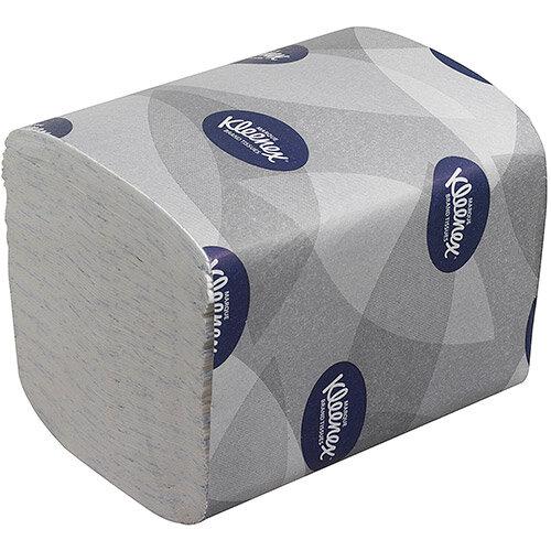 Kleenex Ultra Toilet Tissue Bulk Pack Folded 200 Sheets per Sleeve 2-ply White Ref 8408 Pack of 36