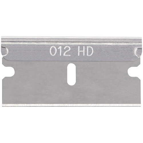Pacific Handy Cutter Standard Single Edge HD Notched Blade Silver Ref RB-012