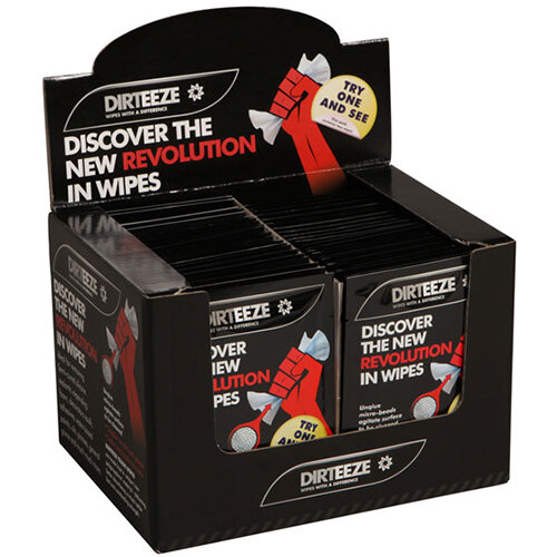 Dirteeze Rough &Smooth Wipes Twin Sachet Pack Ref DZRS2 [50 Wipes x2]