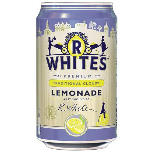 R-Whites 330ml Cloudy Lemonade Drink Pack of 24