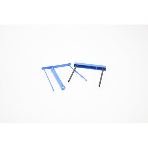 Fellowes E-Clip Filing Clip Blue Ref 0089801 Pack of 50