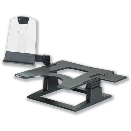3M LX500 Adjustable Notebook Riser Stand Black Ref 300202