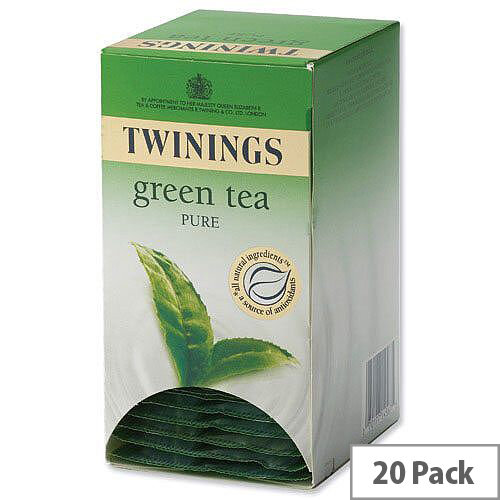 Twinings Pure Green Tea Bags Pack 20