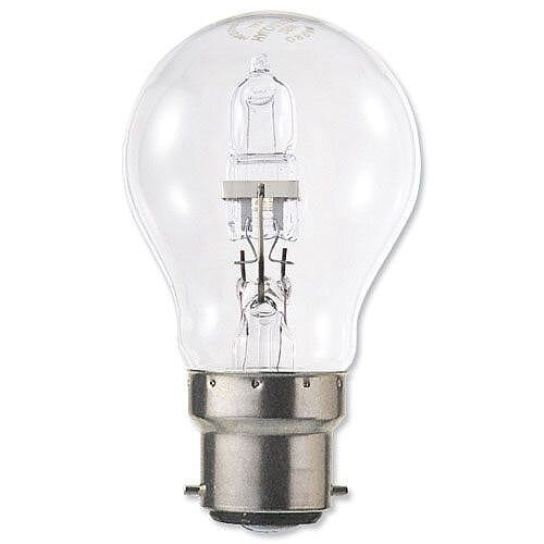 stearn electric 42w energy saving halogen light bulb. Black Bedroom Furniture Sets. Home Design Ideas