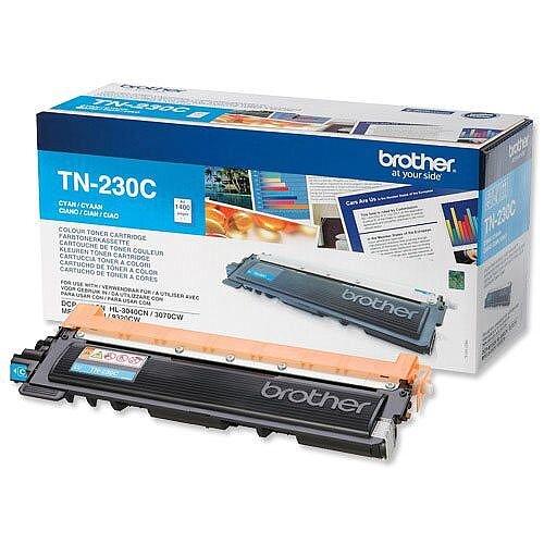 Brother TN-230C Cyan Toner Cartridge TN230C