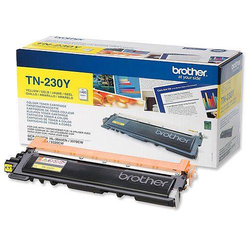 Brother TN-230Y Yellow Toner Cartridge TN230Y