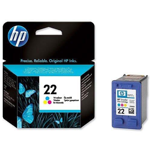 HP 22 Colour Inkjet Cartridge C9352AE