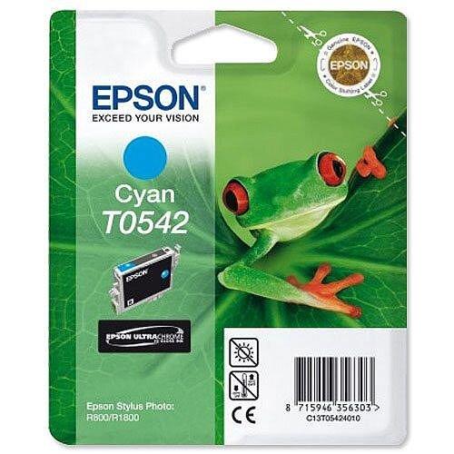 Epson T0542 Cyan Ink Cartridge T054240 Frog Series C13T05424010