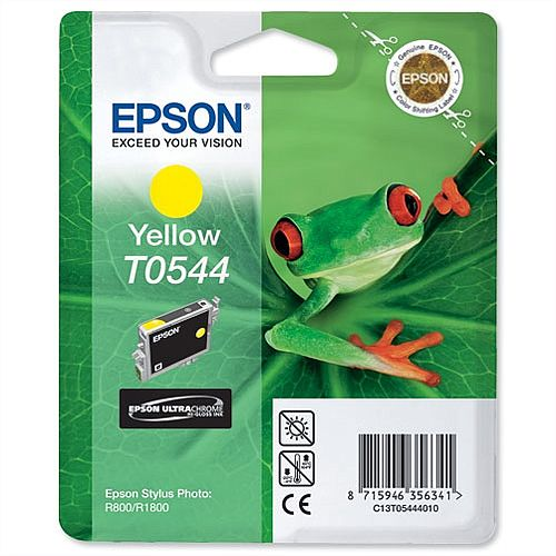 Epson Frog T0544 Yellow Ink Cartridge