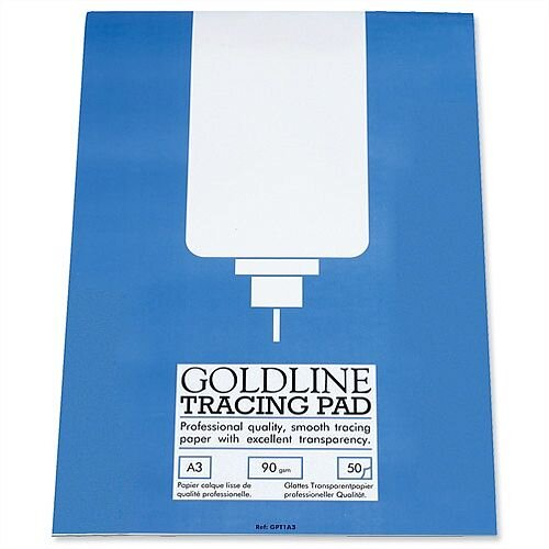Goldline Professional A3 Tracing Pad 50 Sheets GPT1A3Z