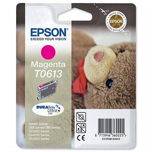 Epson (T0613) Magenta Ink Cartridge (C13T06134010)
