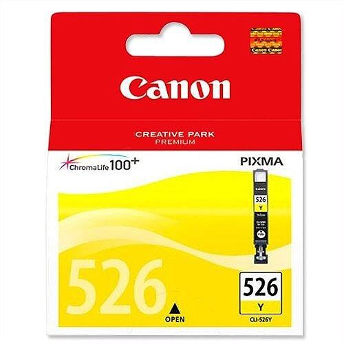 Canon CLI-526Y Yellow Inkjet Cartridge 4543B001
