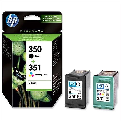 HP 350 351 Inkjet Cartridges Combo Pack SD412EE