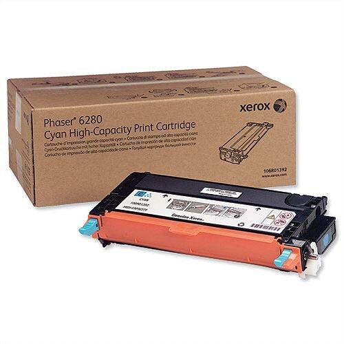 Xerox Laser Toner Cartridge High Yield Page Life 5900 Cyan 106R01392