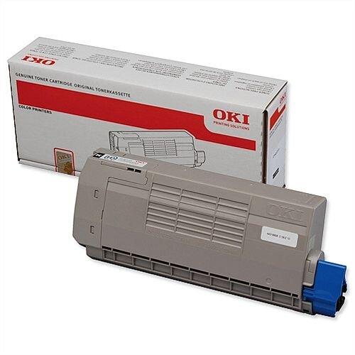 OKI 44318608 Black Toner Cartridge