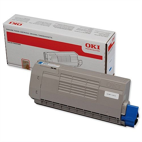 OKI 44318607 Cyan Toner Cartridge