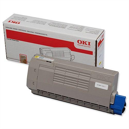 OKI 44318605 Yellow Toner Cartridge