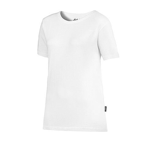 Snickers 2516 Women's T-shirt Size XS White