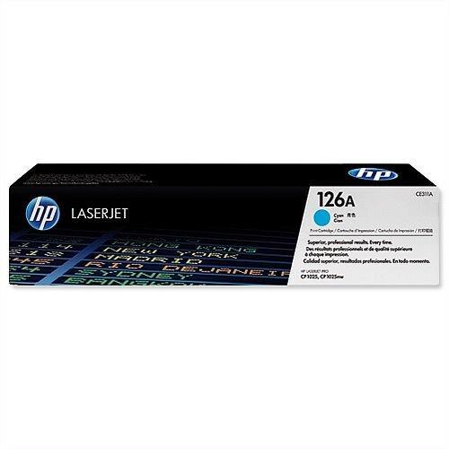 HP 126A Cyan Laser Toner CE311A