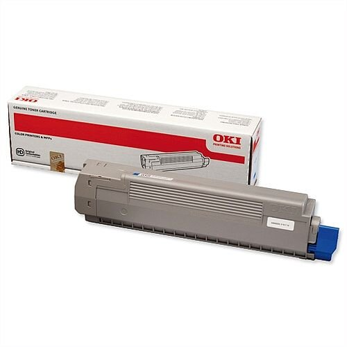 OKI 44643003 Cyan Toner Cartridge