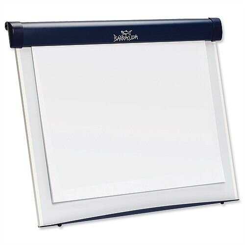 Nobo Barracuda Magnetic Desktop Whiteboard with B1 Flipchart