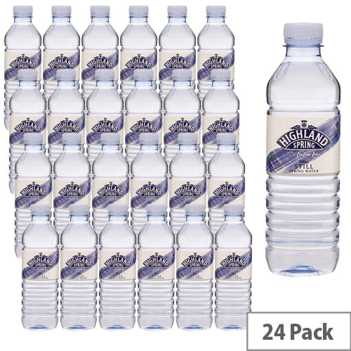 Highland Mineral Water Still Bottle 500ml Pack 24