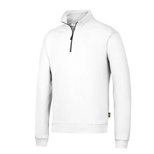 Snickers 2818 ½ Zip Sweatshirt White
