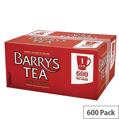 Barry's Gold Blend Gold Label 1 Cup Tea Bags 600