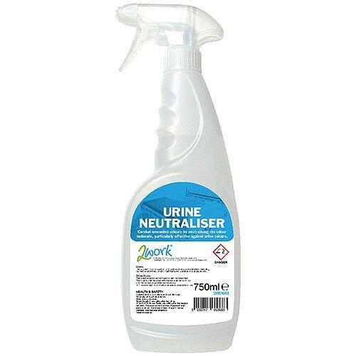 2Work Urine Neutraliser Trigger Spray Bottle 750ml 2W01068
