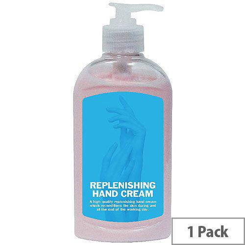 2Work Replenishing Hand Cream 300ml (Pack 1) 2W01071