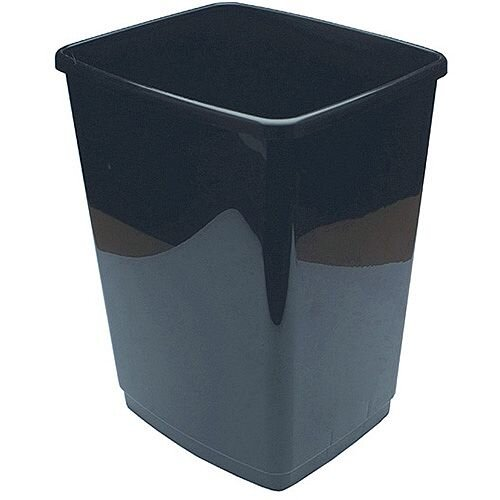 2Work 30L Swing Bin Base Only Black 30L