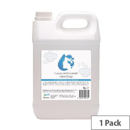 2Work Anti-Bacterial Hand Wash Liquid Soap 5 Litre (Pack 1) 2W03975
