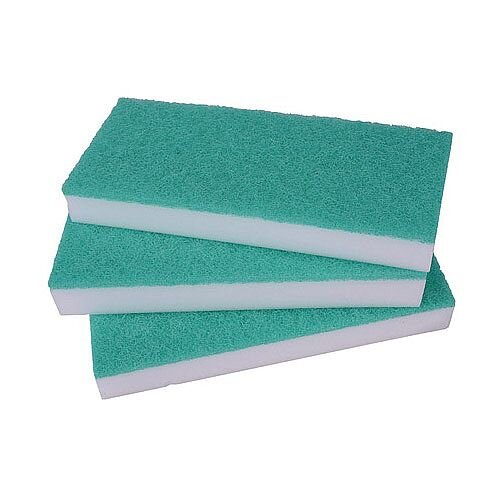 2Work Maxi Erase All Floor Pad 100x60x25mm Pack of 5 SPEMWG05O
