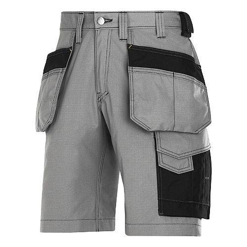 "Snickers Craftsmen Holster Pocket Shorts Grey Waist 30"" Inside leg 32"" WW1"