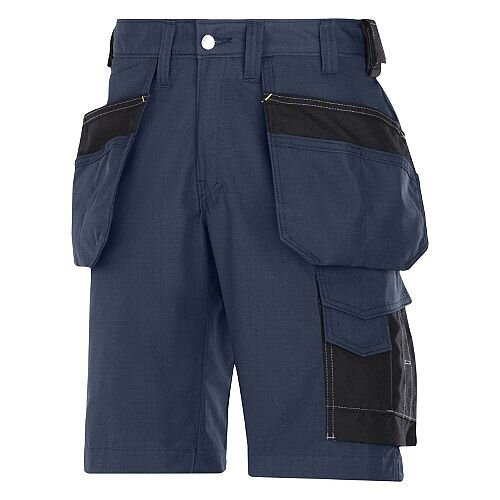 "Snickers Craftsmen Holster Pocket Shorts Navy Waist 31"" Inside leg 32"" WW1"