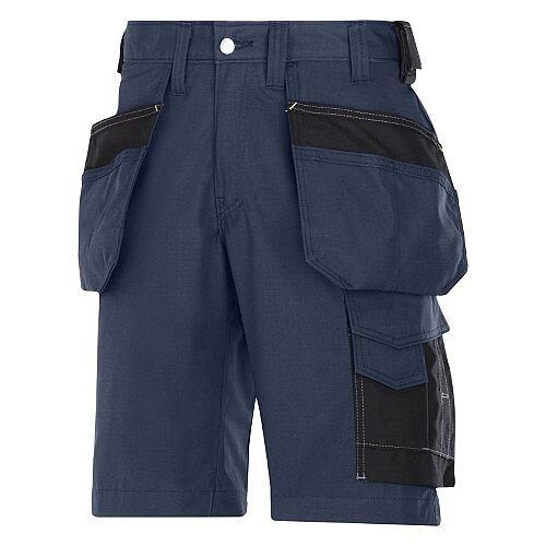 "Snickers Craftsmen Holster Pocket Shorts Navy Waist 35"" Inside leg 32"" WW1"