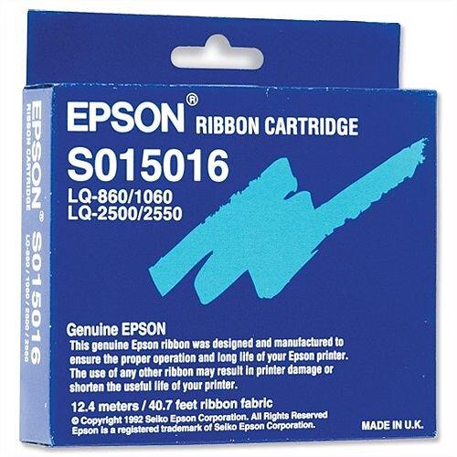 Epson S015262 Printer Ribbon Black for LQ2250 2500 860 1060