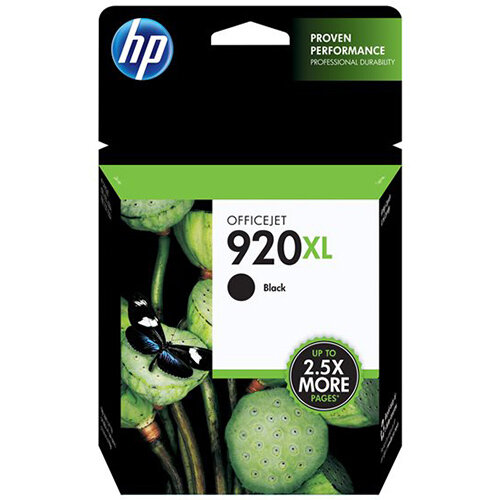HP 920XL - High Yield - black - original - ink cartridge