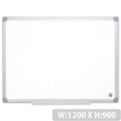 Earth-it Bi-Office Whiteboard 1200 x 900 mm Aluminium Frame MA0500790