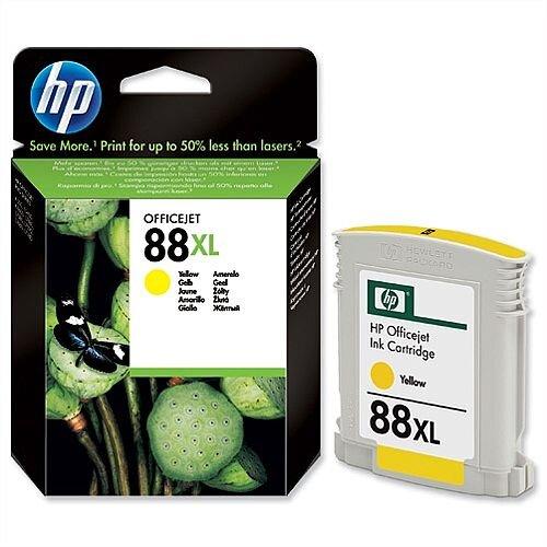 HP 88XL Yellow Inkjet Cartridge C9393AE