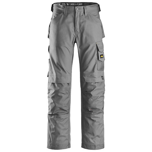 Snickers 3314 Canvas+ Trousers Grey