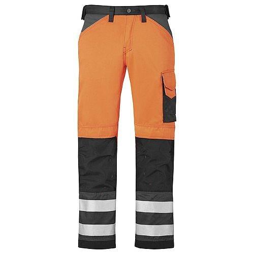 """Snickers High-Vis Trousers Orange 2 Waist 31"""" Inside leg 28"""" WW1"""