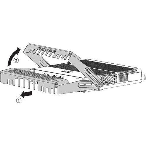 Cisco - Cable guard - for Catalyst 2960CX-8PC-L, 3560CX-8PC-S, 3560CX-8TC-S