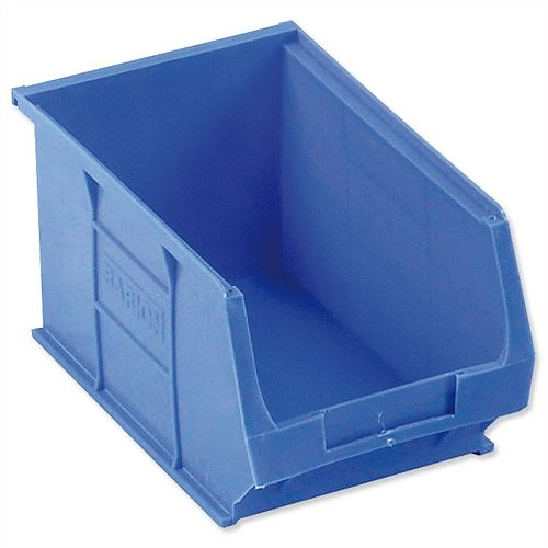 TC3 Container Bin Heavy Duty 4.6L W240xD150xH132mm Blue Pack 10