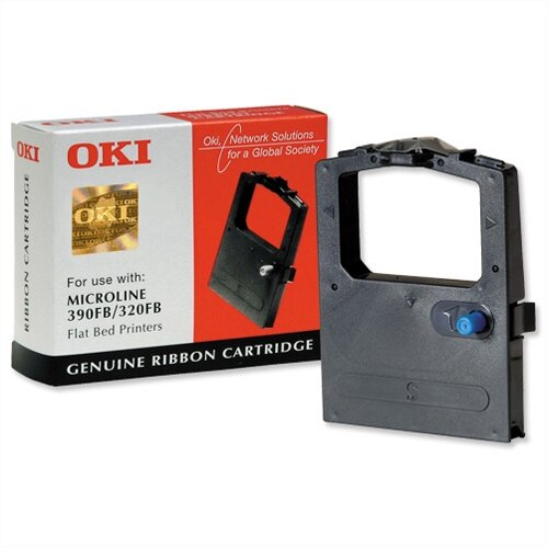 OKI 9002310 Printer Ribbon Black