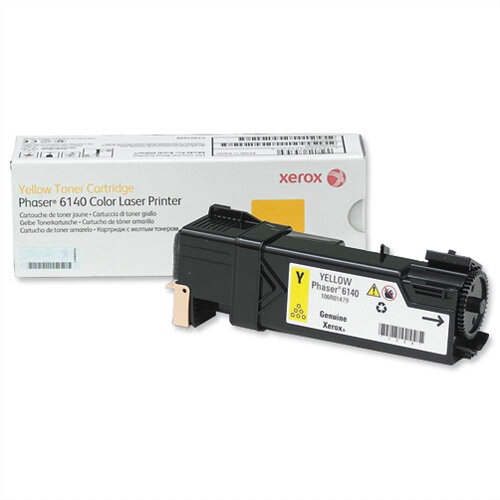 Xerox Laser Toner Cartridge Page Life 2000 Yellow Ref 106R01479