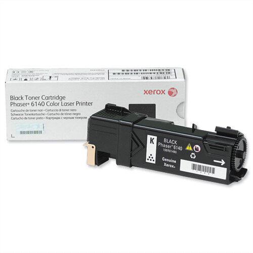 Xerox Laser Toner Cartridge Page Life 2600 Black Ref 106R01480