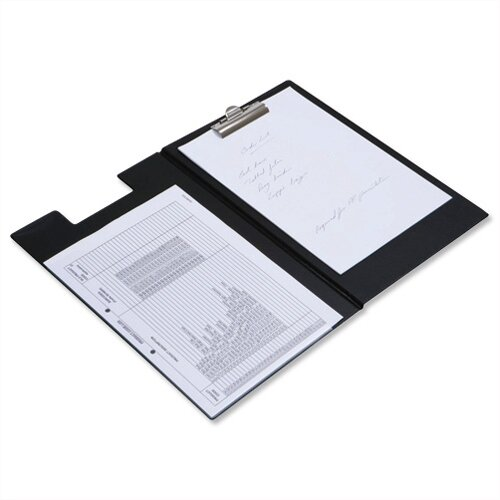 Rapesco Executive Clipboard Pocket Foolscap - Black